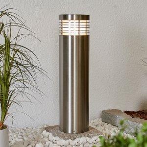 Lampenwelt.com Chodníkové svietidlo Tomita oceľ V2A odolné 60cm