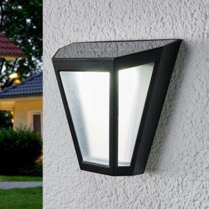 Lindby Solárna LED lampa Yago efekt mrazu tienidlo