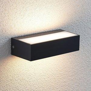 Lindby Vonkajšie nástenné LED svietidlo Nienke IP65 17 cm