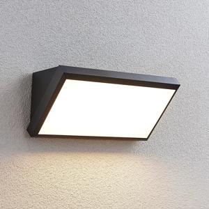 Lindby Vonkajšie nástenné LED svietidlo Abby bez snímača
