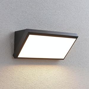 Lindby Vonkajšie nástenné LED svietidlo Abby so snímačom