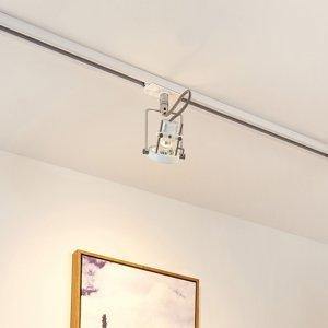 Arcchio LED svetlo Arika 1-fázový koľajnicový systém biely