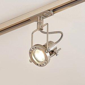 Arcchio LED svetlo Arika 1-fázový koľajnicový systém nikel
