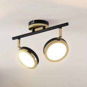 Lindby Lindby Alsani – stropné LED svietidlo 2-plameňové