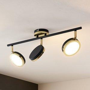 Lindby Lindby Alsani – stropné LED svietidlo 3-plameňové