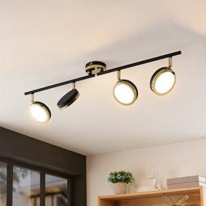 Lindby Lindby Alsani – stropné LED svietidlo 4-plameňové