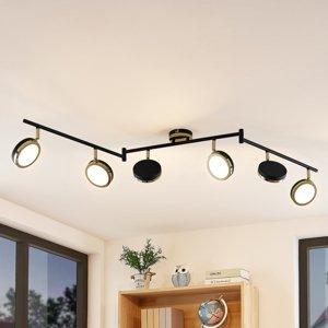 Lindby Lindby Alsani – stropné LED svietidlo 6-plameňové