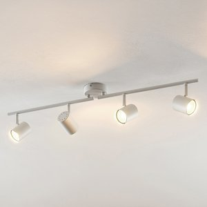 ELC ELC Tomoki stropné LED svietidlo biele, 4-pl.