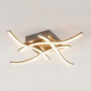 ELC ELC Agostina stropné LED svietidlo, nikel