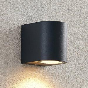 ELC ELC Fijona vonkajšie nástenné LED, okrúhle, 8,1cm