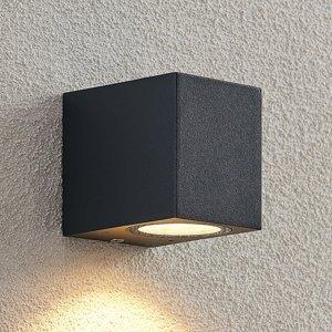 ELC ELC Fijona vonkajšie nástenné LED, hranaté, 8,1cm