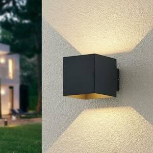 ELC ELC Esani LED vonkajšia nástenná lampa, antracit