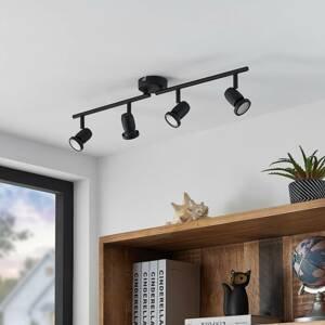 ELC ELC Simano stropné LED svietidlo, čierna, 4-pl.