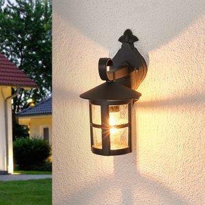 Lindby Romantické vonkajšie nástenné svietidlo Bertil