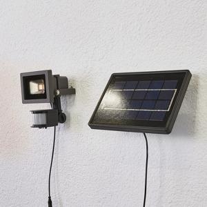 Lindby Solárne nástenné LED svetlo Joelina zvlášť panel