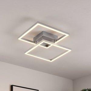 Lucande Lucande Muir – stropné LED, štvorcové