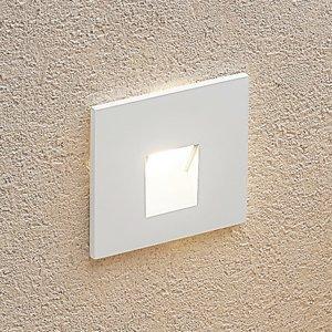 Arcchio Arcchio Vexi zapustená LED, hranatá, biela