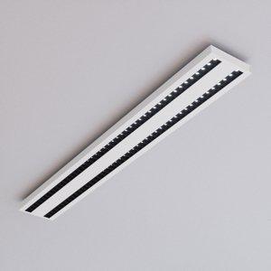 Lampenwelt.com Stropné LED svietidlo Jolinda, dvojradové