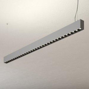 Lampenwelt.com Závesné LED svietidlo Laris striebro stmievateľné