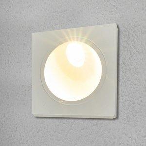 Lucande Zapustené nástenné svietidlo Ian do exteriéru LED