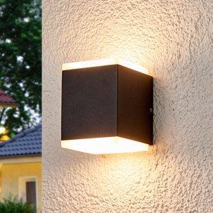 Lucande Vonkajšie nástenné svetlo Sarah diódy LED difuzér