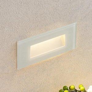Lucande Zapustené nástenné LED svietidlo Jody, 19 cm
