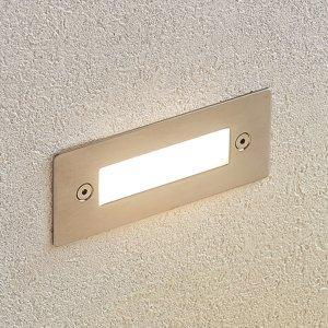 Lucande Zapustené nástenné LED svietidlo Roni oceľ 12 cm