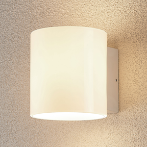 Lampenwelt.com Vonkajšie nástenné LED svetlo Baldur borokremičité