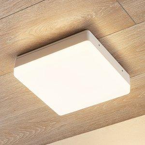 Lampenwelt.com Stropné LED svietidlo Thilo IP54 biele 24 cm