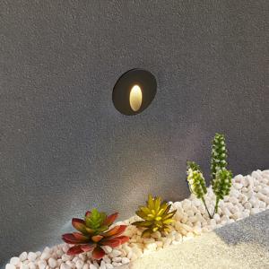 Lucande Lucande Finnleya zapustené LED svietidlo, okrúhle