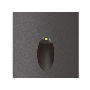 Lucande Lucande Finnleya zapustené LED svietidlo, hranaté