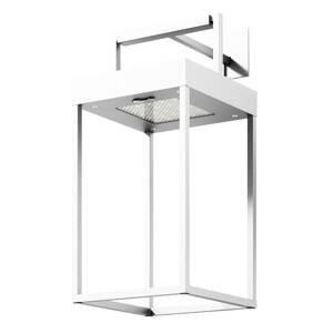 Lucande Lucande Lynzy solárna LED lampa, biela, 38,3cm
