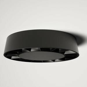 Lucande Lucande Kelissa vonkajšie LED čierne okrúhle