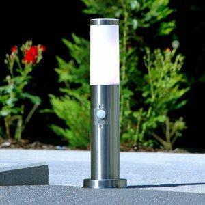 Lindby Decentné soklové svietidlo Kristof detektor pohybu