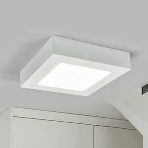 Arcchio LED svietidlo Marlo biele 4000K uhlový 18,1cm