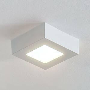 Arcchio LED svietidlo Marlo biele 3000K uhlový 12,8cm