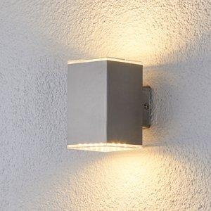 Lampenwelt.com Žiariace vonkajšie nástenné LED svietidlo Lydia
