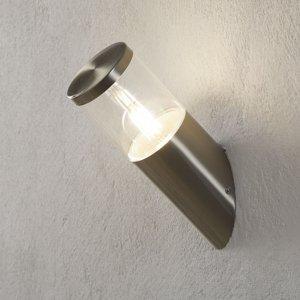 Lampenwelt.com Vonkajšie nástenné svietidlo Hanneli oceľ šikmé