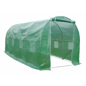 NABBI Greenhouse záhradný foliovník 400x250x200 cm zelená