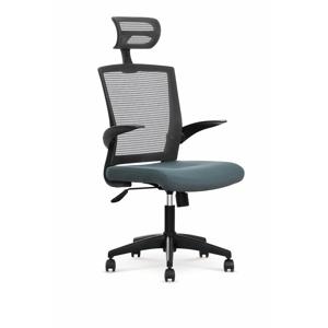HALMAR Valor kancelárska stolička s podrúčkami sivá