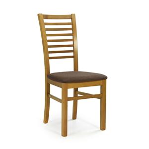 HALMAR Gerard 6 jedálenská stolička jelša / hnedá
