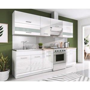 RENAR Rio 240 kuchyňa biela / biely lesk