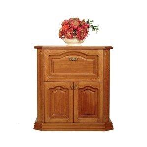 PYKA Kinga M rustikálna barová skrinka drevo D3