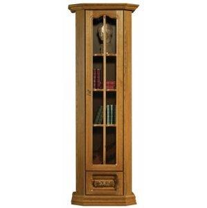 PYKA Kinga P rustikálna jednodverová vitrína drevo D3
