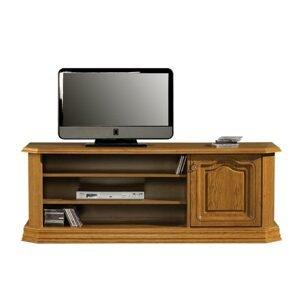 PYKA Kinga H rustikálny tv stolík drevo D3