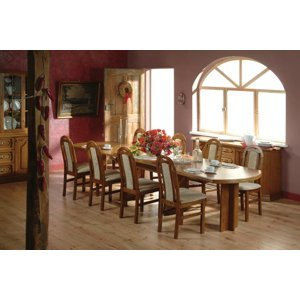 PYKA Kinga rustikálna jedáleň drevo D3