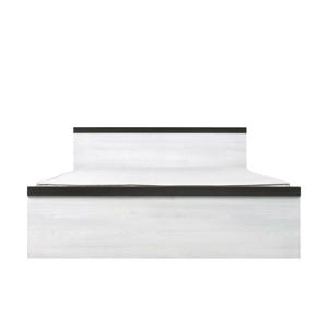 BLACK RED WHITE Porto LOZ/160 manželská posteľ smrekovec sibiu svetlý / borovica larico
