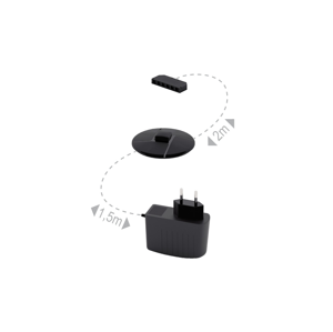 ML MEBLE Zasilacz LED napájací zdroj čierna