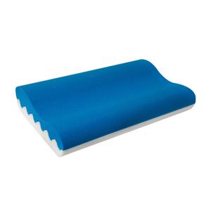 MORAVIA COMFORT Blue 90 anatomický vankúš modrá / biela