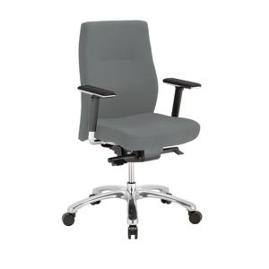 NOWY STYL Orlando ES kancelárska stolička s podrúčkami sivá